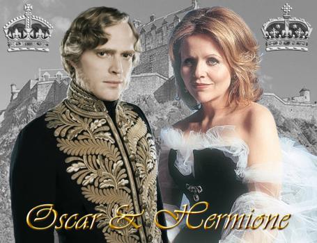 Königliches Brautpaar